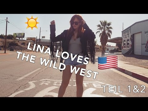LINA LOVES THE WILD WEST | On the road to Arizona