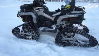 2014 Can-Am Outlander with Apache 360LT Tracks