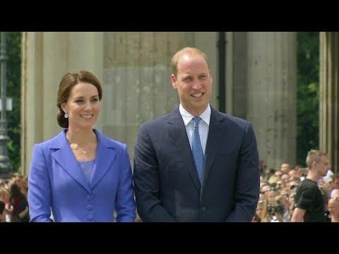 Kate und William in Berlin: Die royale Charme-Offensive