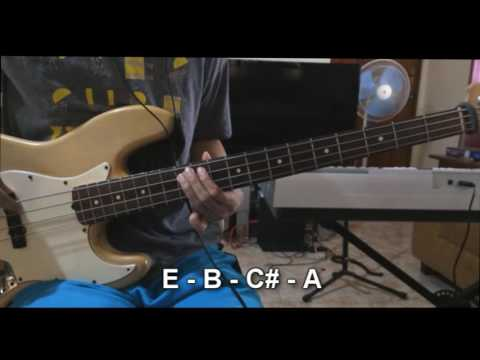 Rooftops by Jesus Culture (Bass Lesson)