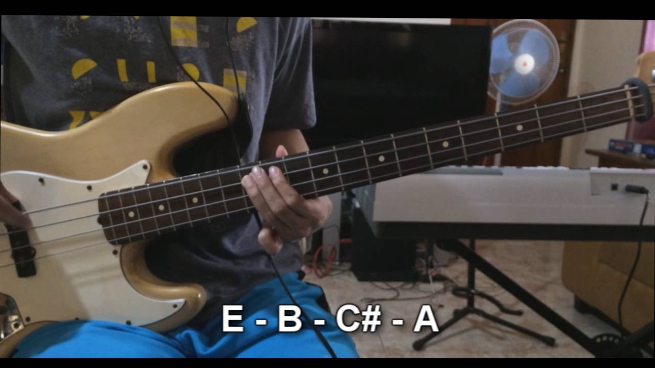 Rooftops by jesus culture bass lesson youtube hexwebz Choice Image