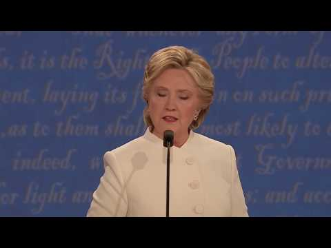 Hillary Clinton on immigration   3rd Presidential Debate   Election 2016