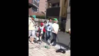 エボルタ君、東海道五十三次「沼津宿」