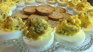 Betty's Bacon-Horseradish Deviled Eggs  --  Easter