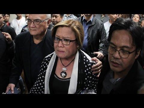 Video: Sen Leila De Lima Already Arrested - February 24 2017