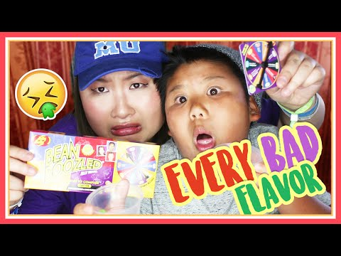 BEAN BOOZLED CHALLENGE 4th Edition - Every Gross Flavor ft Crew - MadeWithSoyy