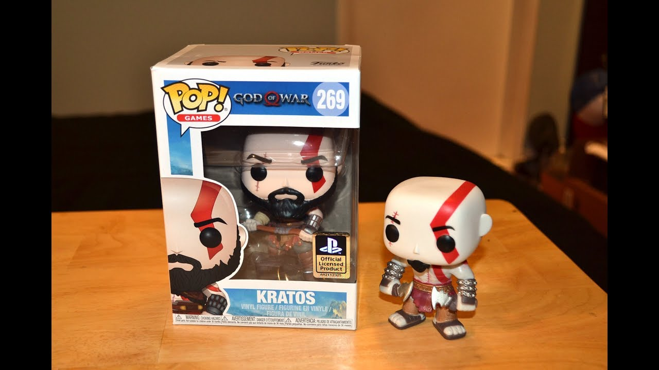 2018 - Atreus Pop God of War Vinyl Figure NEW Funko
