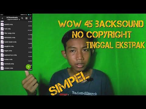Download Backsound Lucu No Copyright Tinggal Ekstrak 45 Backsound Youtube