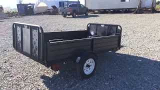 2004 snow bear 4.5x8 trailer