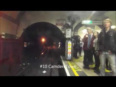 Cab Ride | Northern Line | High Barnet - Camden Town