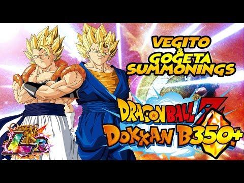 LR GOGETA ON FIRST PULL!!!! | NEW LR Vegito and Gogeta Summons | DBZ Dokkan Battle
