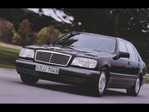 Тест-драйв Mercedes S500 W140 - YouTube