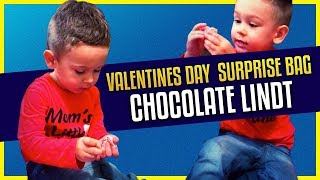 Valentines Day | Surprise bag - Chocolate Lindt | Little Mike Fun