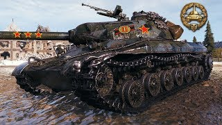 WZ-111 5A - DAMAGE RECORD - World of Tanks Gameplay