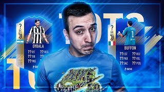Serie a team of the season (tots) predicciÓn | dybala, higuain, nainggolan y mas | fifa 18