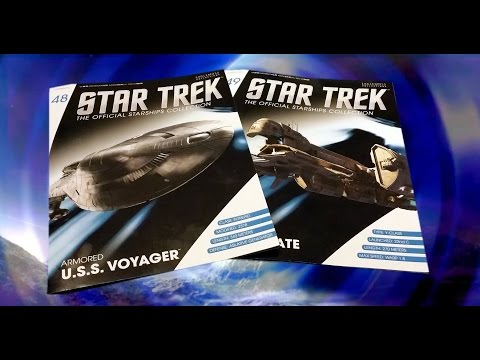 Star Trek Starships Collection #48 & 49 Review:  Armoured U.S.S Voyager & ECS Fortunate