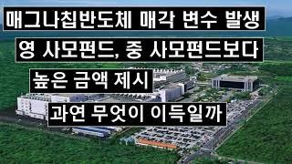 매그나칩 반도체 매각 변수 발생 영 사모펀드 중 사모펀…