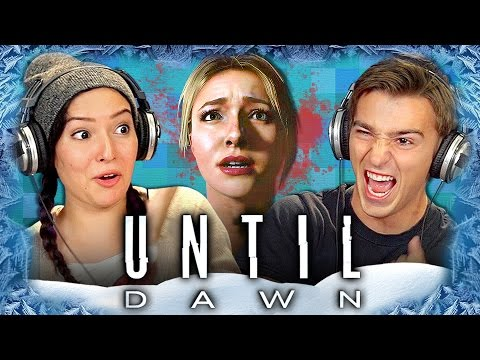 UNTIL DAWN (ADULTS and TEENS REACT: Gaming)