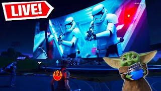FORTNITE STAR WARS LIVE EVENT!!! (Fortnite Battle Royale)