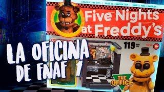 ABRIENDO LA OFICINA DE FIVE NIGHTS AT FREDDY'S 1 OFICIAL (FNAF TOYS UNBOXING)