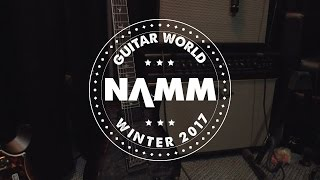 NAMM 2017 - PRS Guitars SE Line -  Mark Holcomb SE, Vela Satin, Santana Retro and More!