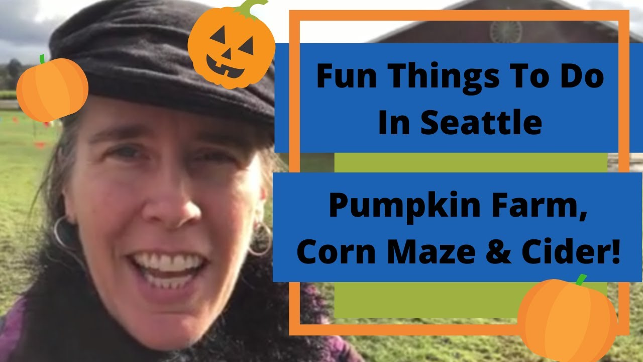 Fun Things To Do In Seattle - Pumpkin Farm, Corn Maze, Wagon Rides, Petting Farm