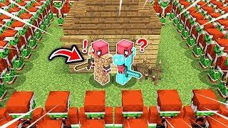 FAKİR VS NOEL BABA GRİNÇ KIYAMETİ! 😱 - Minecraft