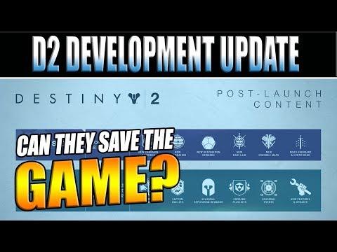 Can Bungie Save Destiny 2?   Bungie Development Update & Post-Launch Content