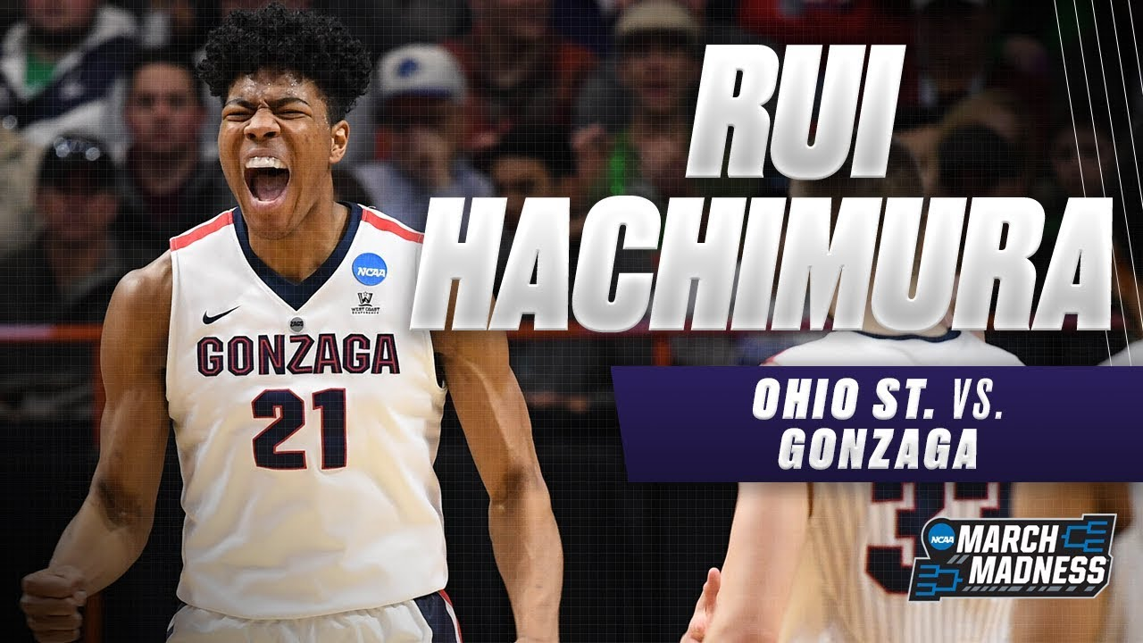 Rui Hachimura stars in victory as Gonzaga makes Elite Eight
