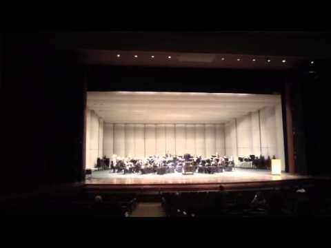 Bridgman High School Concert Band 2014