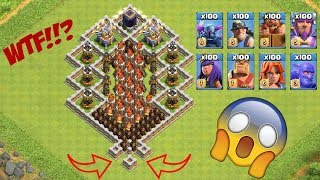 OMG! COC, Who Can Survive? Clash Of Clans Mod #03