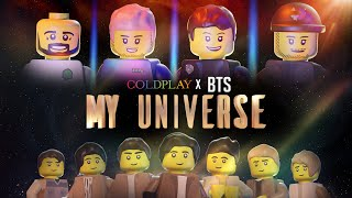Coldplay X BTS - My Universe (Lego Video)   Fan-Made