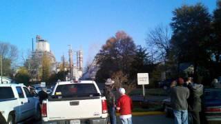 Bastrop Louisiana paper mill boiler coming down
