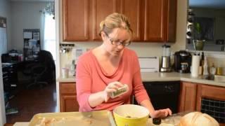 Healthy Cod Fish Salad Sandwich With Quinoa