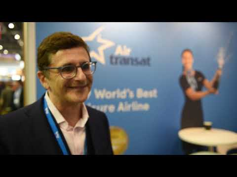 Gilles Ringwald, vice president, commercial, Air Transat