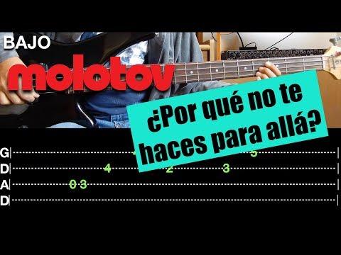 ¿Por qué no te haces para allá? - Molotov // Video-Guía + Tabs (Bass Cover) || El Richi! mp3