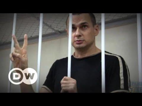 Jailed Ukrainian filmmaker Oleg Sentsov wins Sakharov prize | DW English