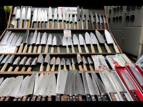 Review Dao Nhật Dao Làm Bếp Sản Xuất tại Nhật Thử Độ Sắc Của Dao Nhật Made in Japan