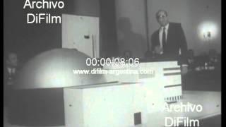 DiFilm - Maqueta con la construccion Central Nuclear Atucha I 1969