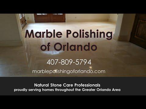 Natural Stone Tile Floor Refinishing Port Orange FL