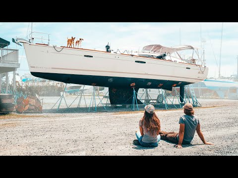 We Buy a SALVAGE SAILBOAT at Auction!? | Expedition Evans 1