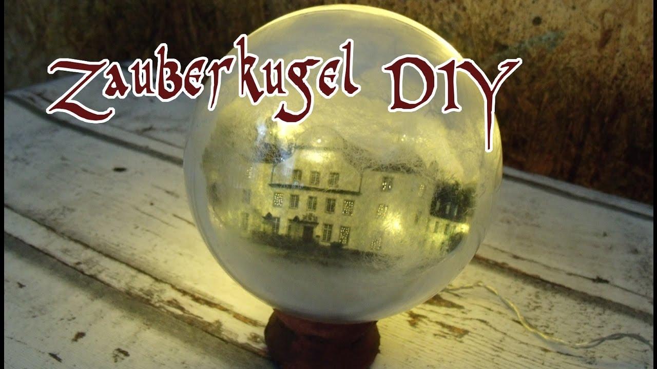 Zauberkugel geheimnisvolle lichtkugel zur deko selber basteln diy tutorial in deutsch youtube - Harry potter party deko ...