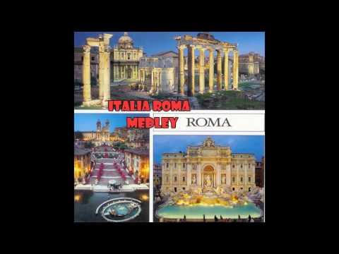 Various Artists - Italia Roma songs medley: arrivederci Roma / Quanto sei bella Roma / Vecchia Roma