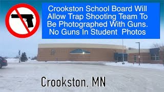 Crookston School Board Walks Back Decision To Ban All Guns From School Photos