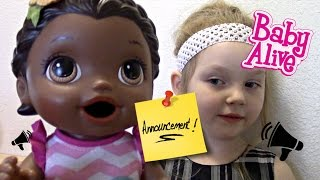 Baixar BABY ALIVE makes an ANNOUNCEMENT! The Lilly and Mommy Show