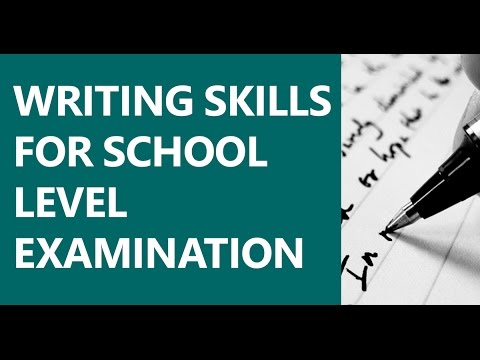 Writing Skills for School Level Examination - Book Reviews