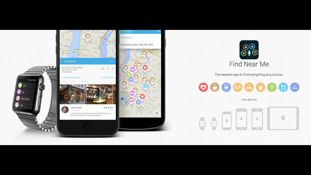Find Near Me For Android, Ios  Windows - Youtube-2624