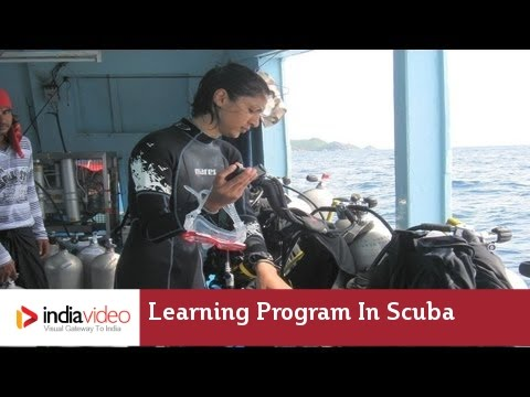 Learning Program in Scuba Diving | India Video