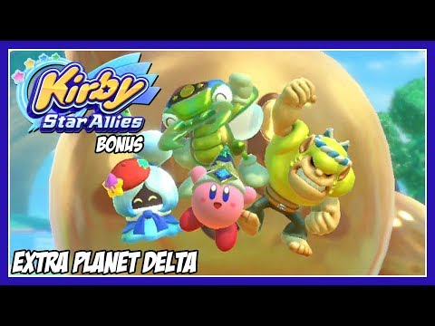 Kirby Star Allies Extra: Extra Planet Delta