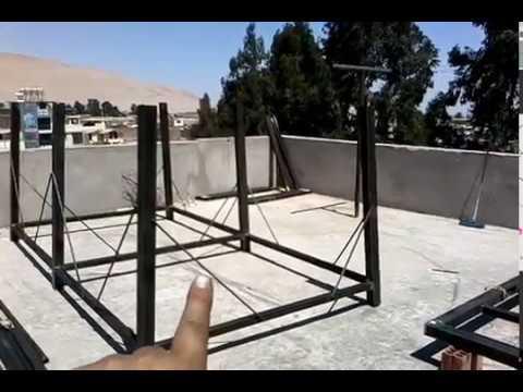 acamyleandon estructura para tanque de agua 2 youtube